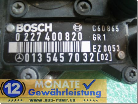 Ignition Module 013-545-70-32 Bosch 0227400820 Mercedes W129 W140