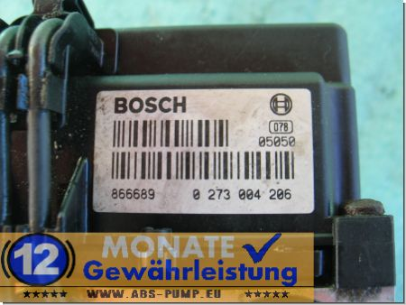 ABS Unit 09127952 DX 0-265-220-427 Bosch 0273004206 Opel Omega-B