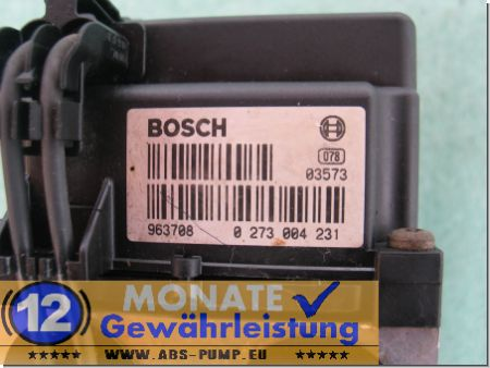 Bloc ABS calculateur 0265220457 DT 90576559 0273004231 Vectra