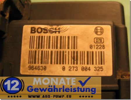 Bloc ABS calculateur 500331028 0265219426 Bosch 0273004325 Iveco Daily