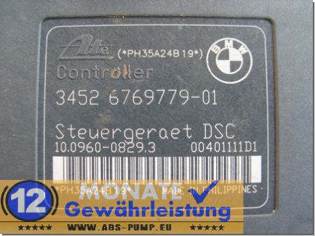 ABS Unit DSC 3451-6769778-01 3452676977901 10.0960-0829.3 BMW E87 E90 E91