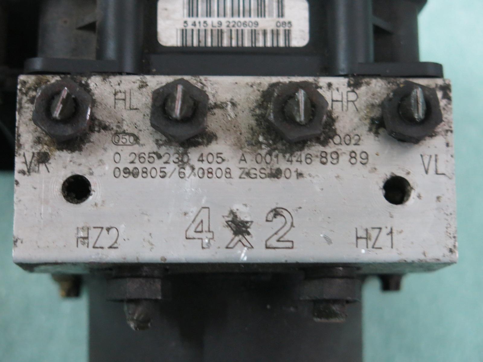 Mercedes ABS Module a0014462589 0265950481 001 446 25 89 026523503 1 de Express