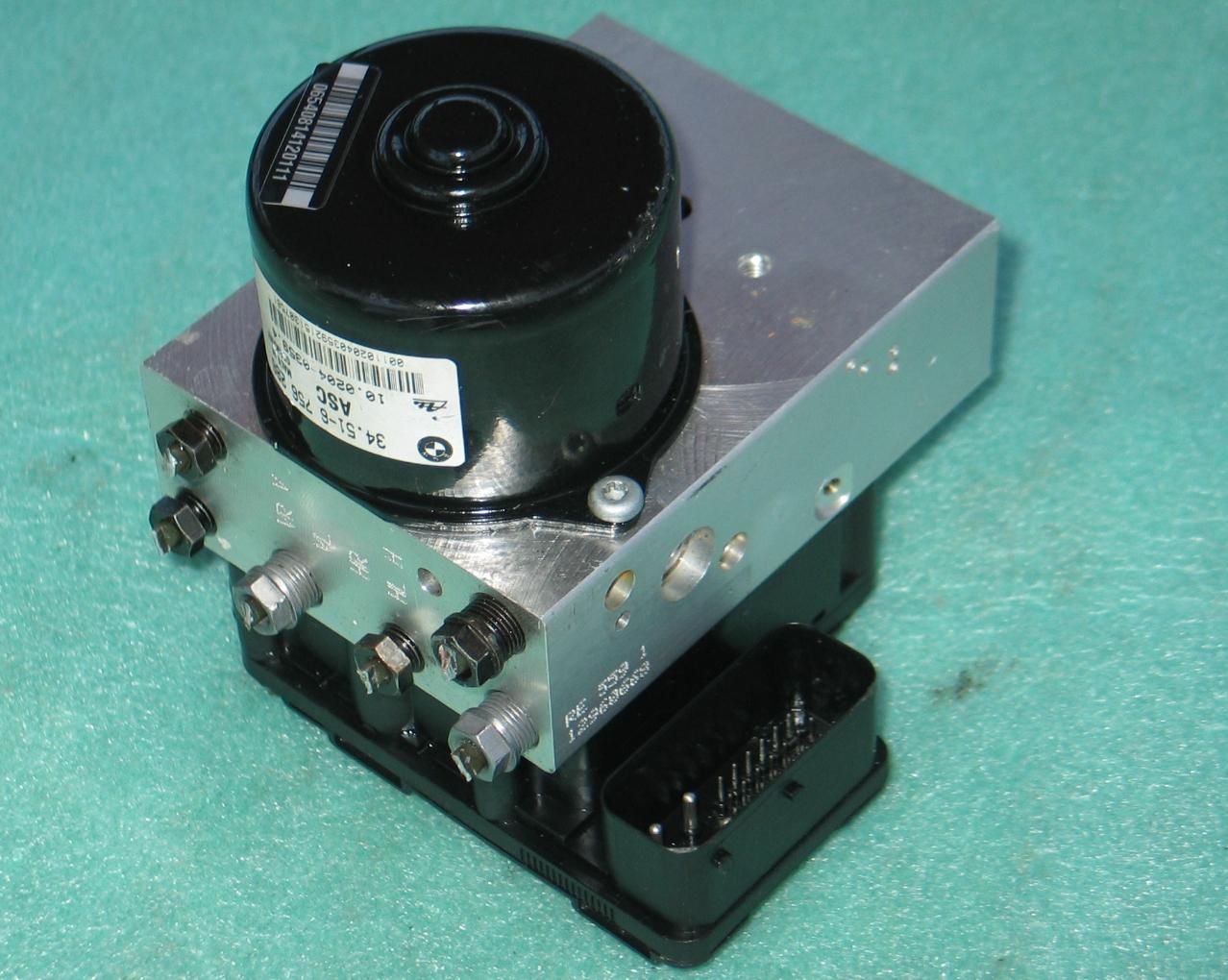 abs asc pump control module 34516756287 bmw e36 z3 e46. Black Bedroom Furniture Sets. Home Design Ideas
