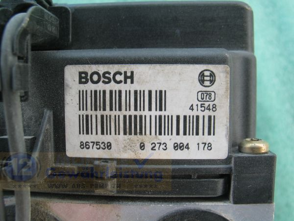 Bloc ABS calculateur 0265215401 99635575503 0273004178 Porsche 911 Boxster