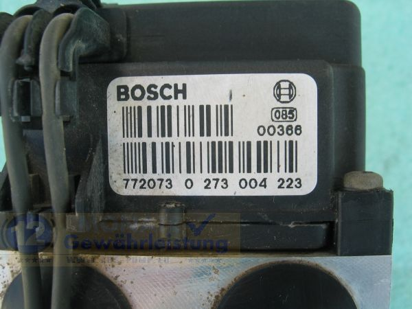 Bloc ABS calculateur 0265216471 4779484 0273004223 Saab 93 95 900 II