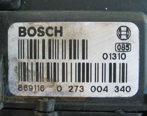 ABS Unit 99VB2C219CB 0-265-216-624 Bosch 0273004340 Ford Transit