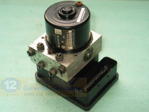ABS Unit 1K0614517M 1K0-907-379-Q 10.0206-0180.4 Ate 10096003553 VW Audi